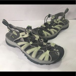 Keen Women's Size 8 Green Sport Sandals SM1208